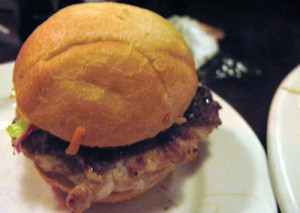 Pork slider