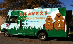 Beavers Coffee &amp; Donuts Drivers Side Pic