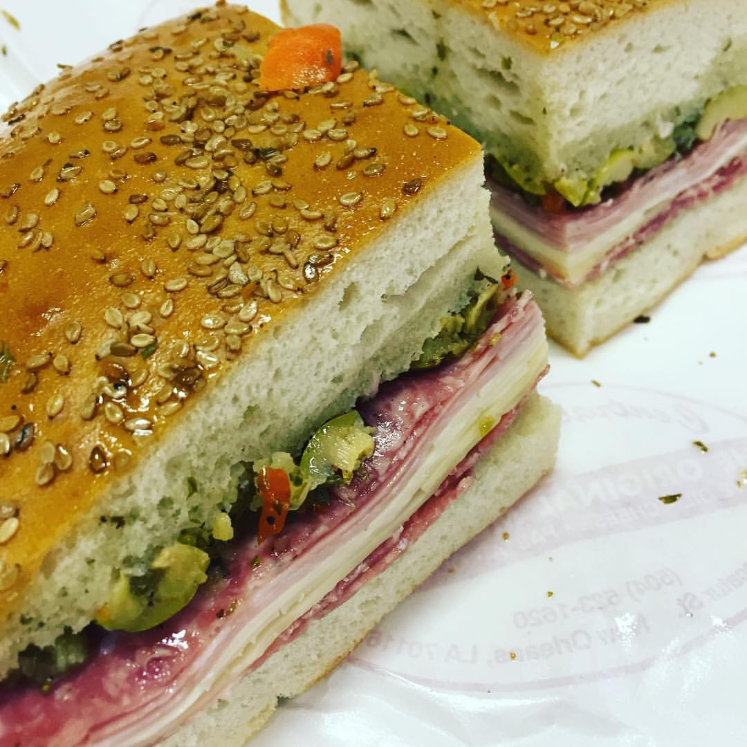 Muffuletta at Central Grocery/Photo: David Hammond