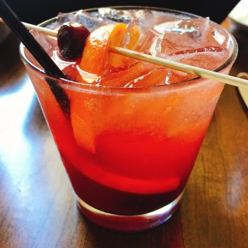 Old Fashioned, sour, at Supper, photo David Hammond