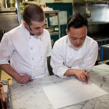Chef Kim and Sous Chef Jeffrey/Photo: Parallel Chicago