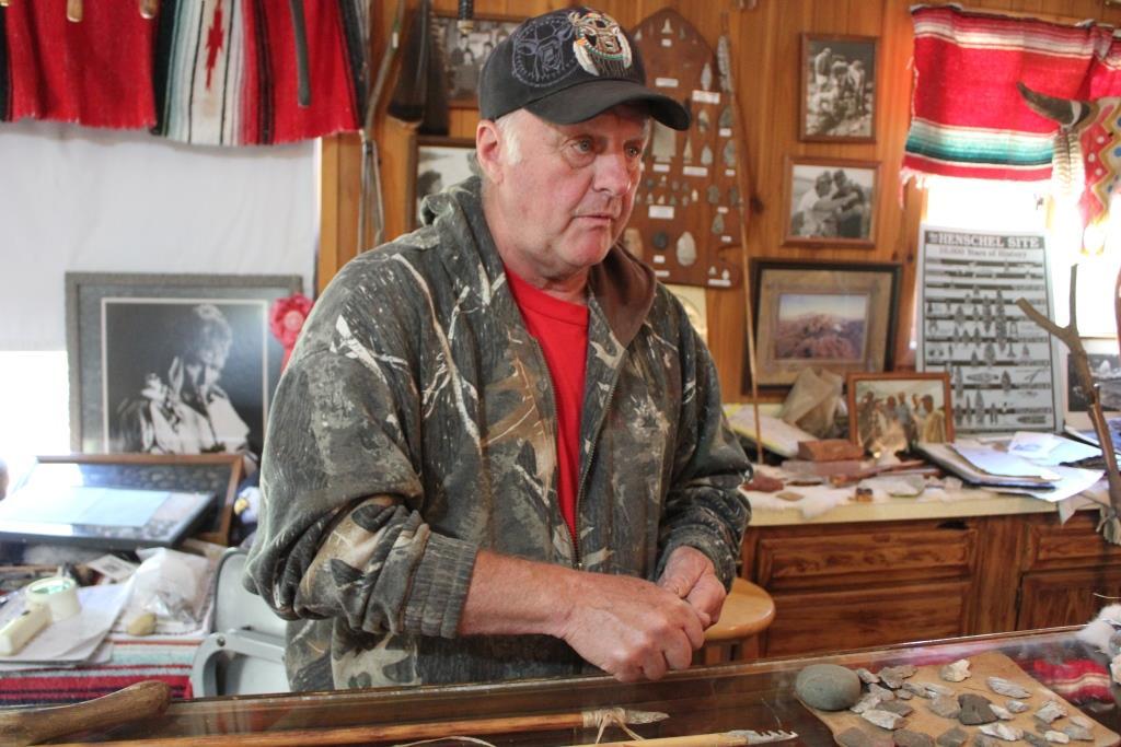Gary Henschel of Henschel's Indian Museum and Trout Farm/Photo: David Hammond