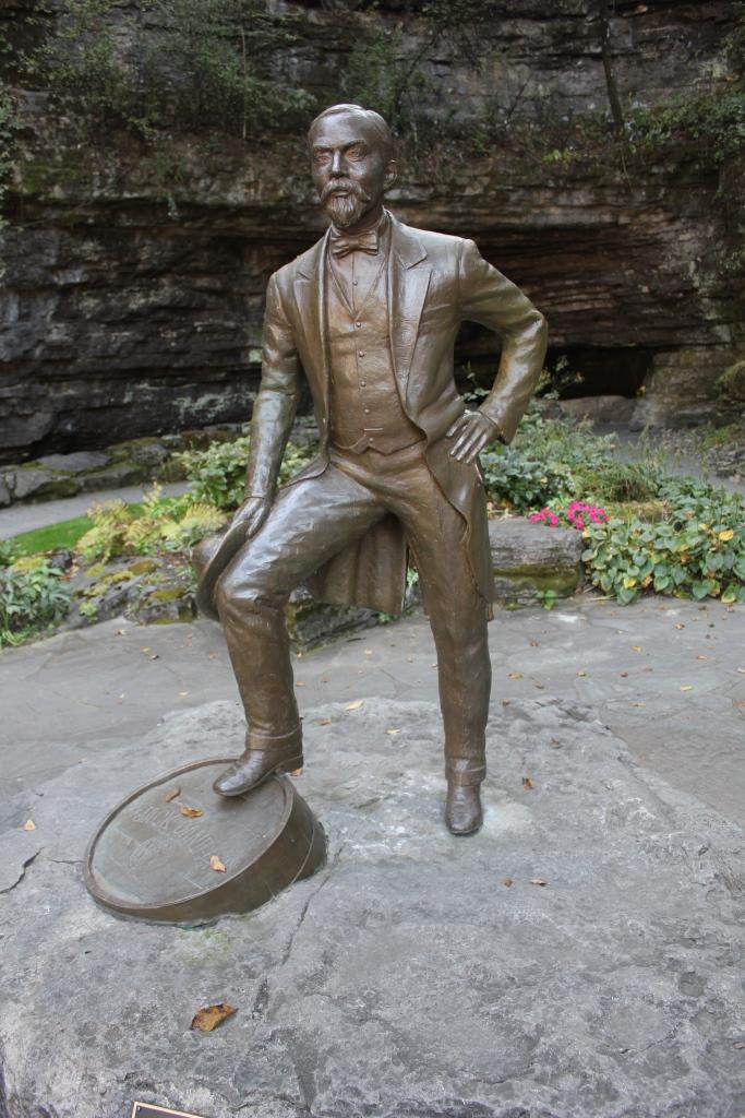 Jack Daniels statue at Cave Spring, Lynchburg, Tennessee/Photo: David Hammond