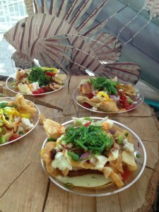 Lion Fish nachos, courtesy David Hammond