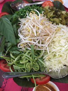 "Condiment bowl at In-On Thai/Photo"" David Hammond"