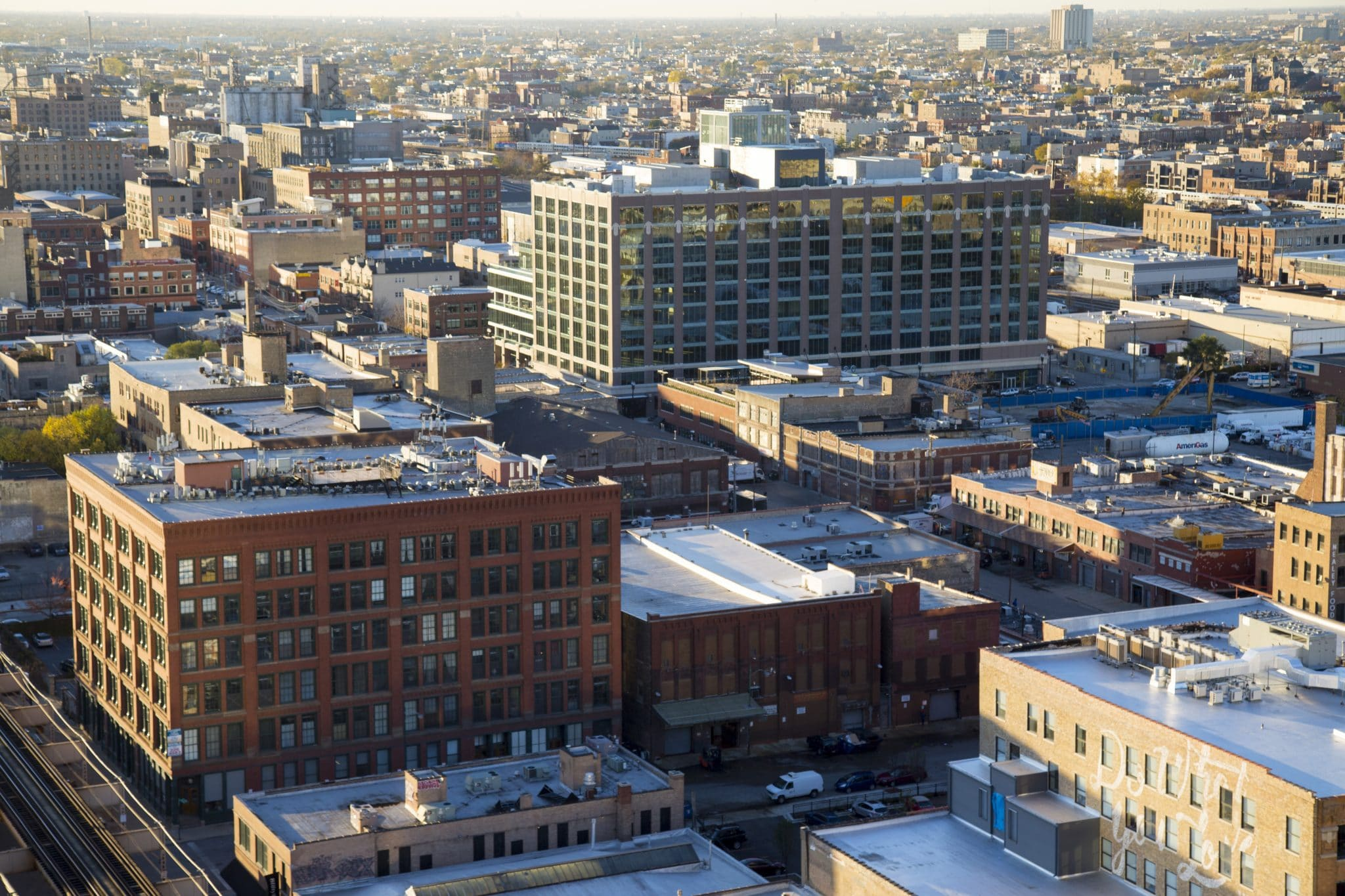 Jeff Shapack's almost-finished hi-rise/Photo: MKRogers Features & Photography