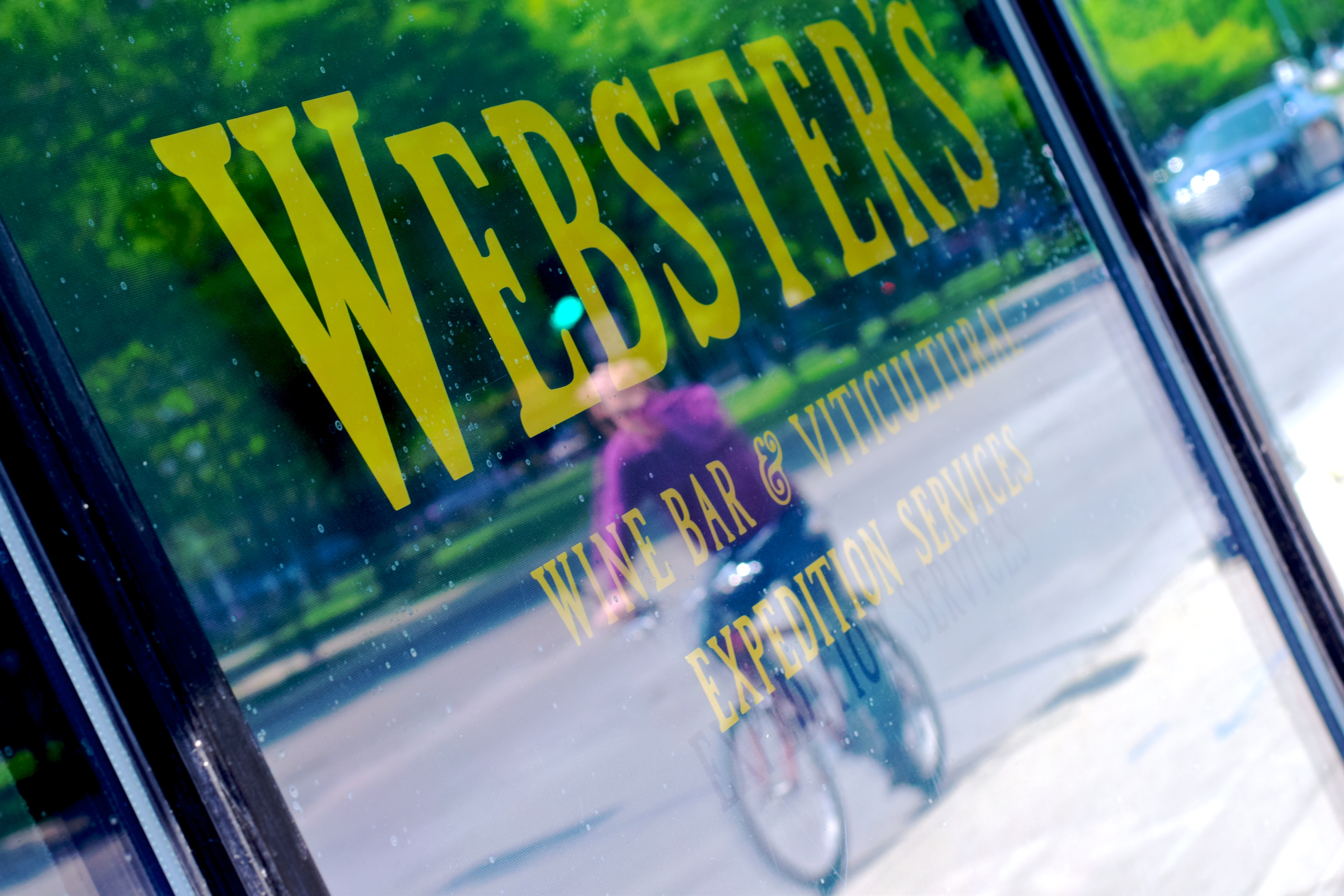 Webster's Wine Bar in Chicago's Logan Square/Photo Kristine Sherred