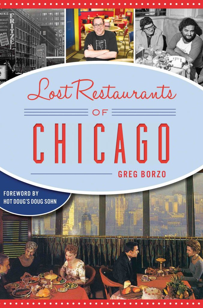"""Lost Restaurants of Chicago"" book cover image"