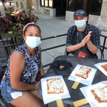 Going Gets Tough, Tough Eat Pizza: Dolinsky's Pizza Tours Are Now Virus-Safe