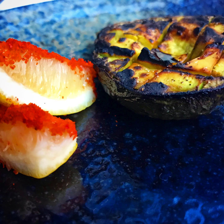 Roasted Avocado photo David Hammond